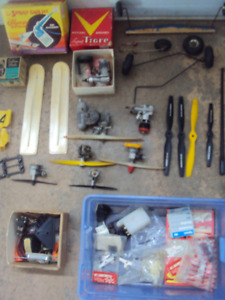 RC AIRPLANE LOT... Engines, Props, Parts, etc