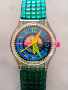 VINTAGE SWATCH WATCH X2. SELLING AS COMBO