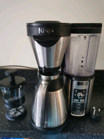 Ninja Coffee Brewer with milk frother