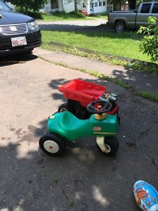 Two outdoor toddler ride ons $20