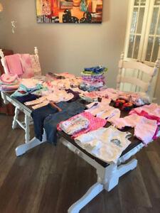 lot de vêtements 3 a 12 mois fille