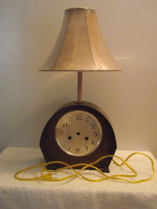 """Timeless"" Mantel Clock Reading Lamp"