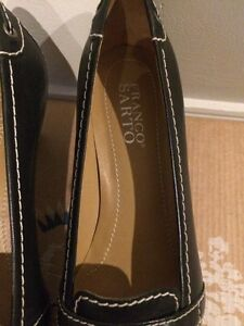 Franco Sarto leather shoes size 7.5 London Ontario image 4