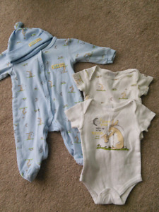 3M sleeper and onesies ($5 for LOT)