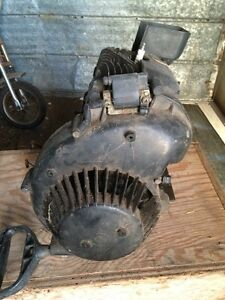 1980 Yamaha  250 Enticer Motor and Gas Tank