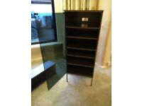 Freestanding filing / storage cabinet with THREE matching wall units