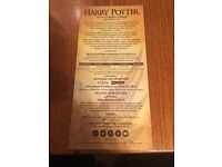 Harry Potter and the Cursed Child Part 1 & 2 - Stalls - July 2016 London Theatre