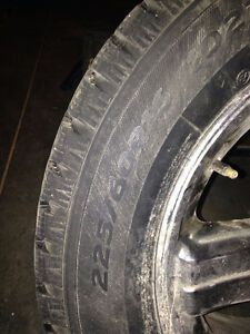 Snow Tires with rims Stratford Kitchener Area image 2