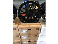 """18"""" alloy wheels Alloys Rims tyre tyres 5x112 Mercedes a cla c e class Vw Volkswagen Seat Skoda audi"""
