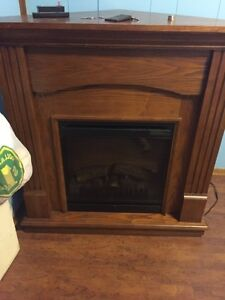 Good condition electric fireplace