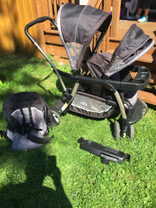 Graco double stroller - great condition!