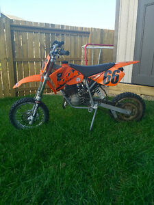 2006 KTM 50 CC Adventure SX senior dirt-bike.