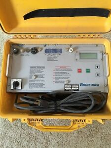 Orion electrofusion rionfuser 854-2 plastic pipe welder.