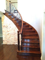 STAIRS REMODELLING - MANUEL AND SON CONTRACTING