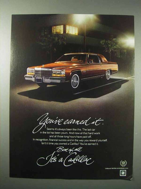 1982 Cadillac Car Ad - You