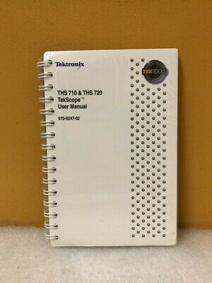 Tektronix 070-9247-02 Ths 710 Ths 720 Tekscope User Manual