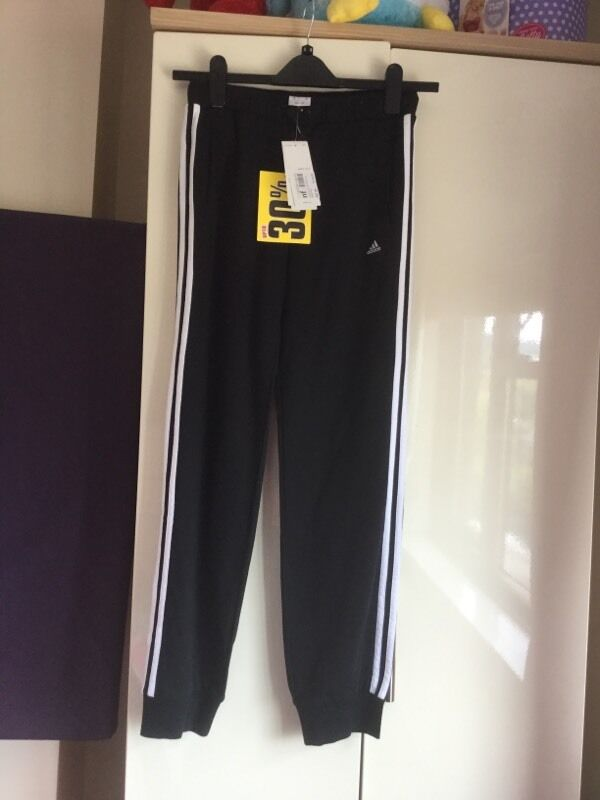 Young girls adidas track bottoms
