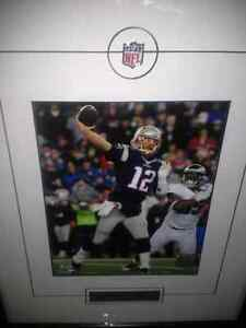 Tom Brady framed picture
