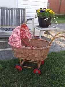 *Antique Doll Buggy*