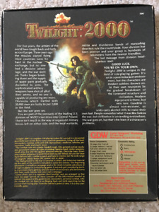 Twilight 2000 Board Game Complete with Expanded Rules and Equip