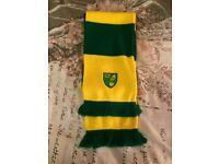 Norwich city scarf