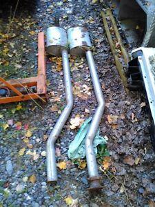 exhaust camaro1967 a 1969 front pipe 2 1/2 gauche et droit
