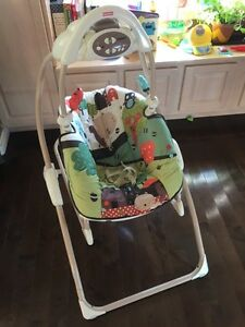 Fisher price 2 in 1 swing and rocker