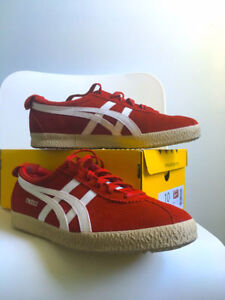 ONITSUKA TIGER Mexico Delegation Red Suede D601L.2199 Size 10.5