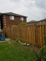 Call Anderson Fence Ont first! The nice weather is on it way!!