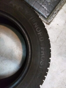 Winter tires / Pneus d'hiver Gislaved Nordfrost 100