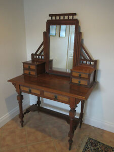 DRESSING TABLE - Victorian c1860