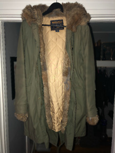 Woolrich fall/winter woman parka XS size