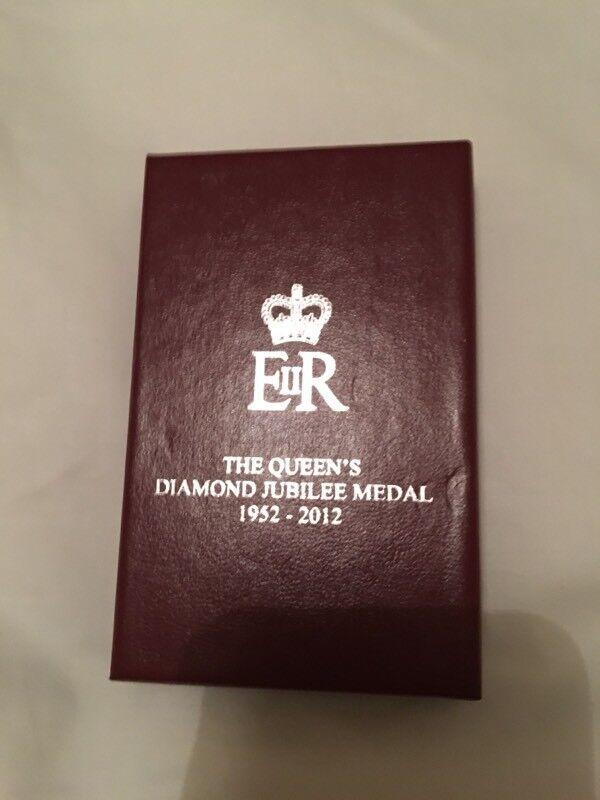 Diamond Jubilee Medal.