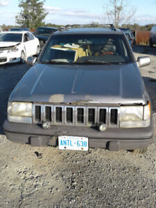 PARTS AVAILABLE FOR A 1997 GRAND CHEROKEE