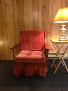Solid Wood Frame Chair