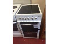 Very nice flavel Milano e50 50cm ceramic top electric cooker 3 month guarantee