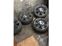 Audi Rs4 alloy wheels 18""