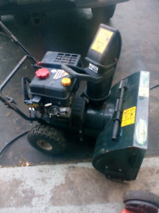 2 stage snowblower for sale