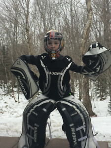 Road hockey goalie gear