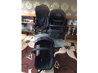 Hauck double buggy