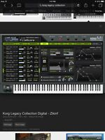 Korg legacy collection virtual instruments