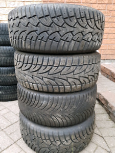 225/45R17 Bmw Winter tires on rims