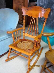 Antique Ladies Rocking Chair