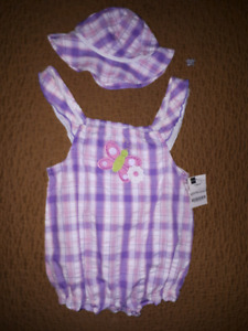NWT romper with hat