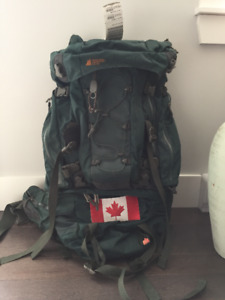 MEC IBEX 65 Camping and Hiking Backpack Travel Backpack