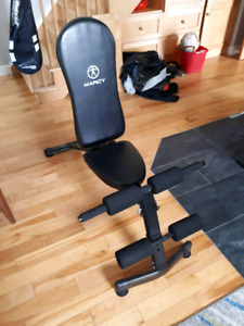 Adjustable weight bench- sold PPU