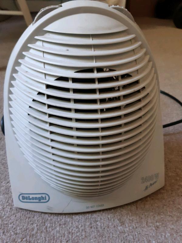 De'Longhi HVE134 Fan Heater 2.4
