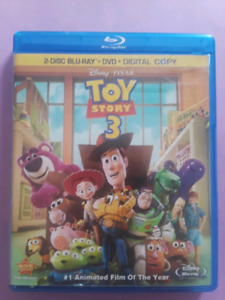 Toy Story 3 DVD, Blu-ray and digital copy