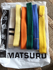 Old Karate Belts