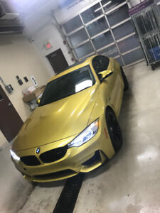 2015 BMW M4 , MINT, 44,000KM GOING TO AUCTION BY END OF NEXT WK